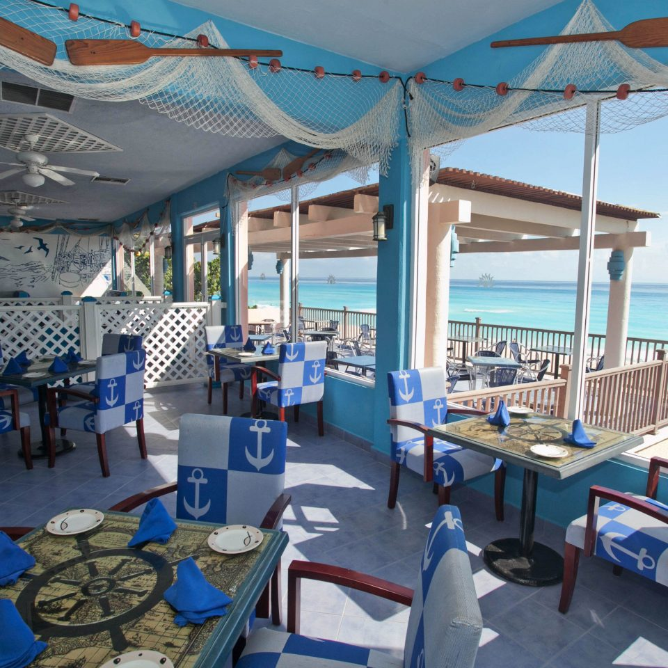 chair Resort caribbean vehicle marina passenger ship restaurant blue yacht