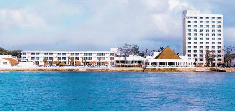 water sky property Resort marina resort town condominium caribbean dock blue palace panorama shore swimming