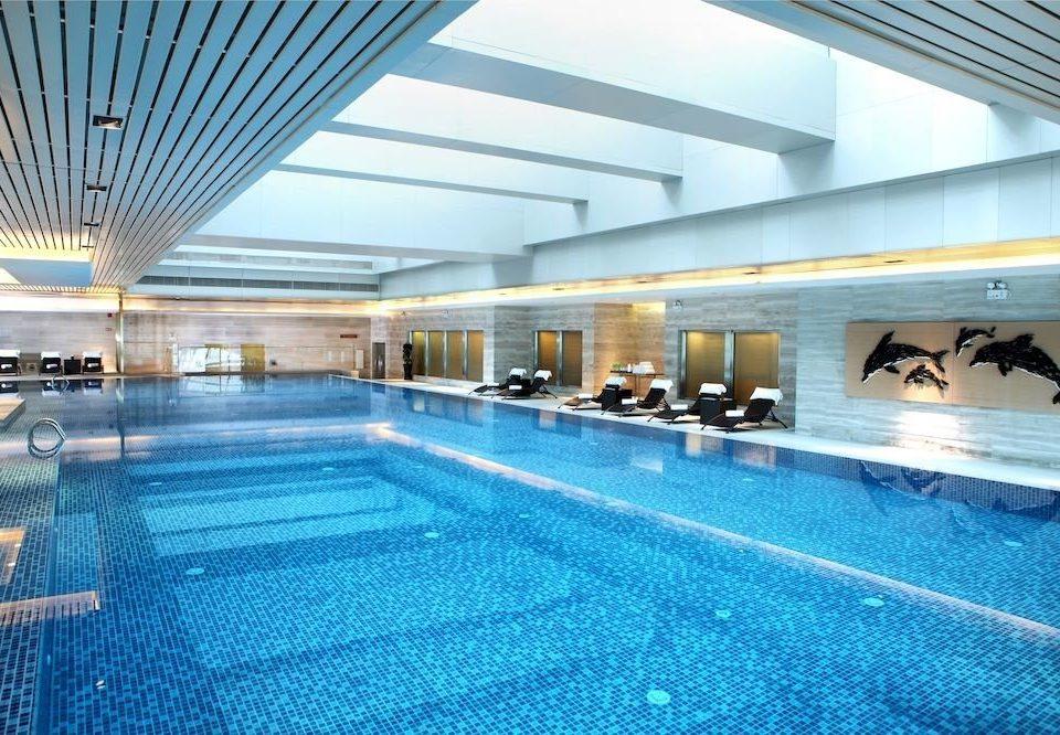 swimming pool leisure property leisure centre convention center Resort condominium blue