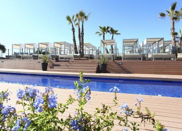 sky water swimming pool property Resort plaza walkway condominium blue marina town square mansion