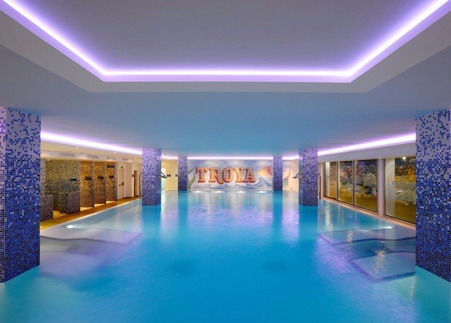 swimming pool property leisure scene blue leisure centre lighting convention center Resort function hall light