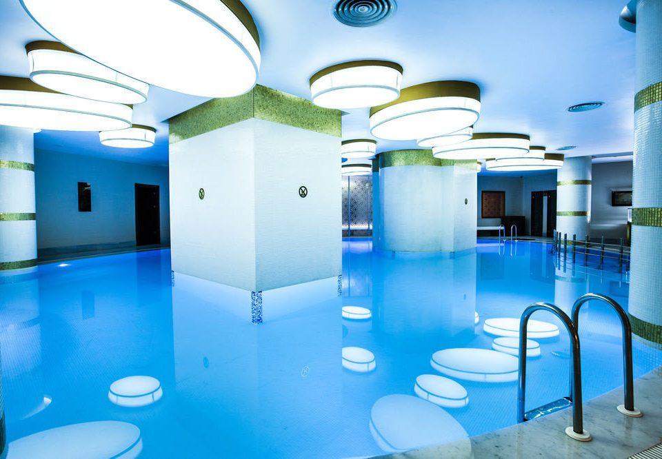 swimming pool leisure leisure centre lighting Resort blue