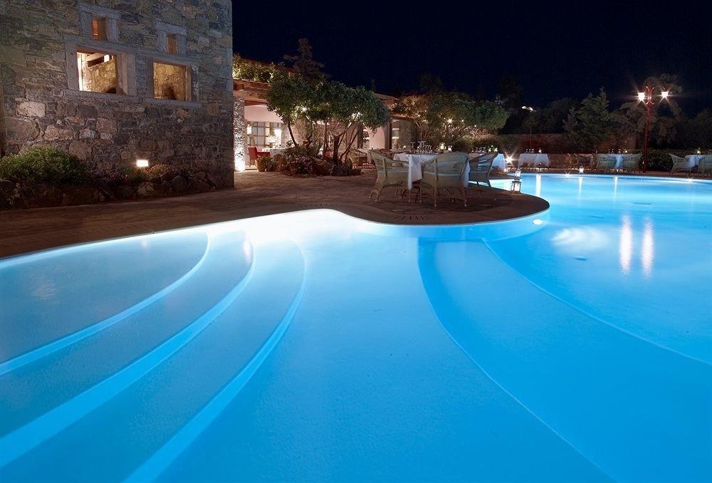 swimming pool Resort blue