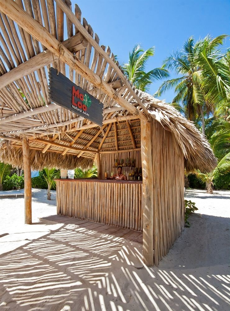 ground property walkway wooden hut Resort outdoor structure boardwalk roof cottage