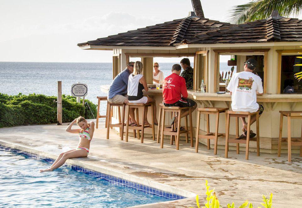 water sky leisure swimming pool building Resort caribbean