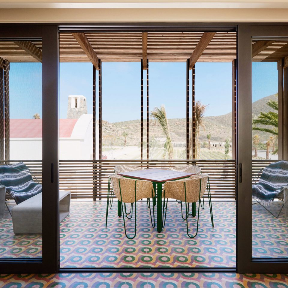 building property home condominium living room porch door Resort