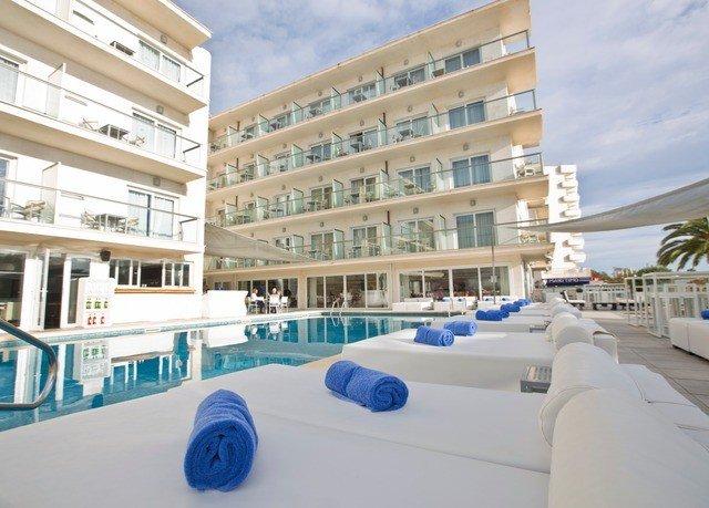 building property condominium plaza white Resort headquarters