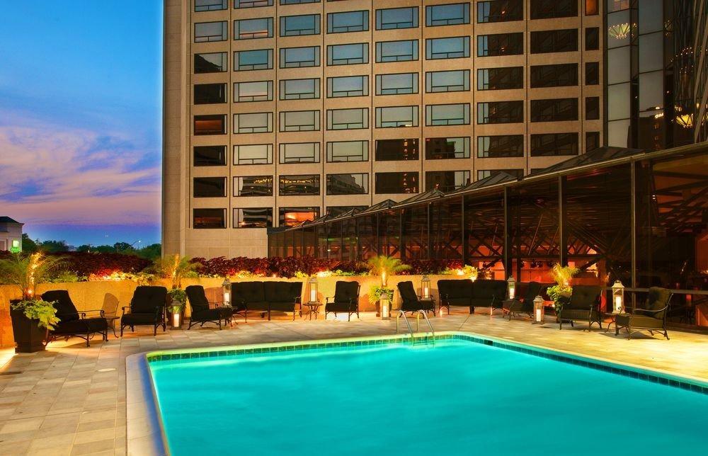 Resort building leisure swimming pool property condominium plaza