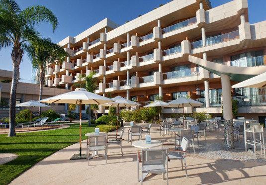 condominium property plaza Resort building residential area