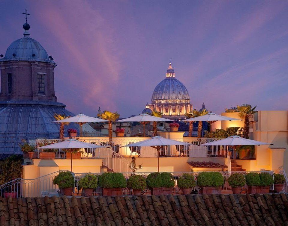 building landmark place of worship Resort evening dome palace temple