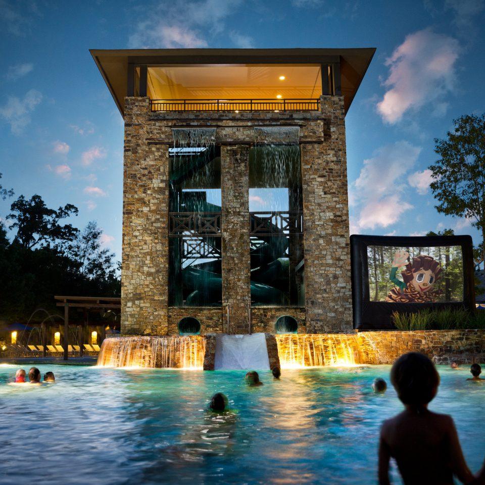 sky leisure landmark building evening Resort swimming pool