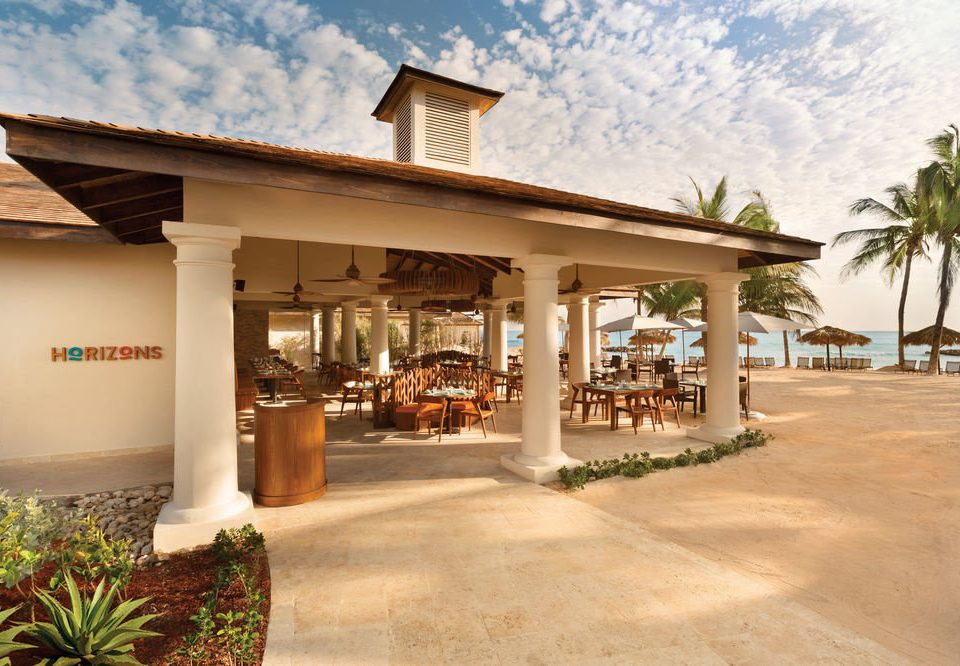 sky building ground property home Resort restaurant porch stone