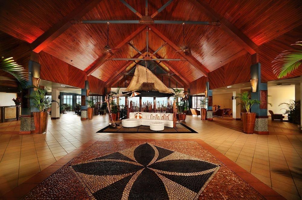 building Resort restaurant wooden hacienda