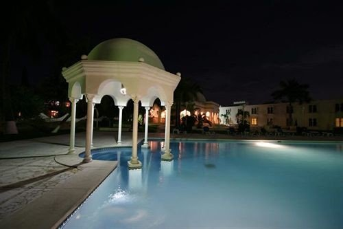 building swimming pool lighting Resort thermae