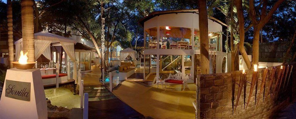 building Resort restaurant porch