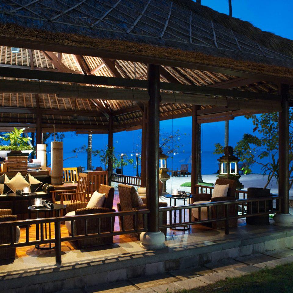 building Resort restaurant