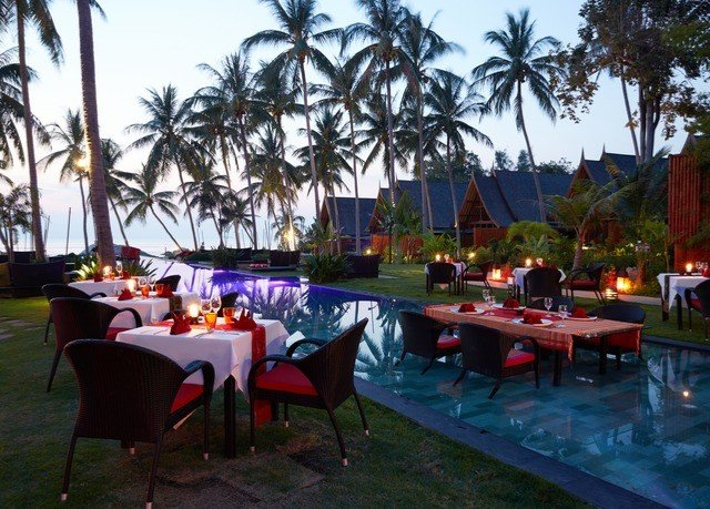tree sky chair leisure Resort restaurant caribbean hacienda palm