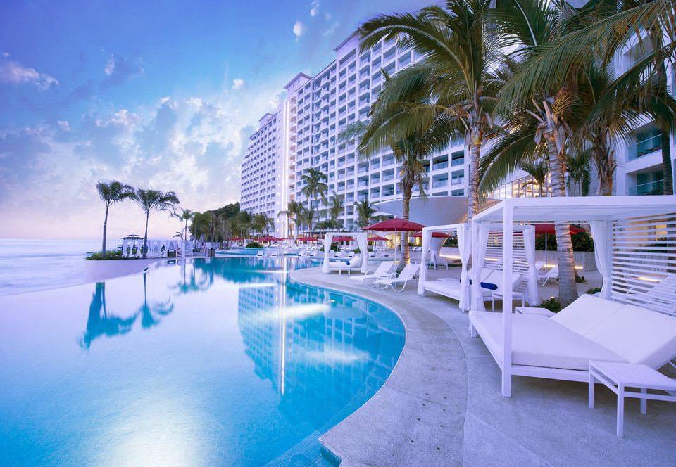 leisure swimming pool Resort marina caribbean condominium dock