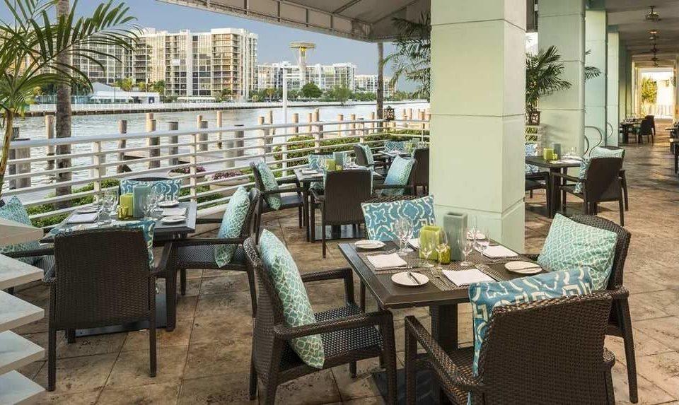 chair property restaurant condominium Resort set dining table
