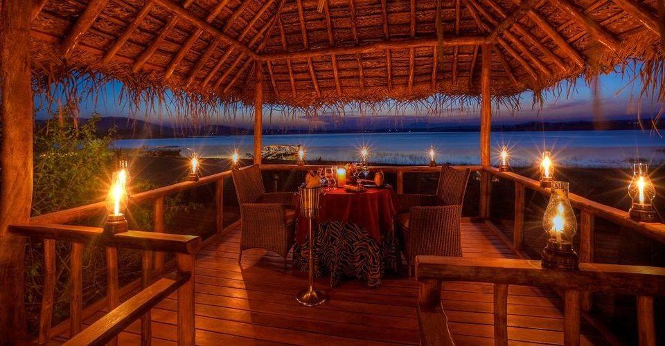 chair Resort night evening