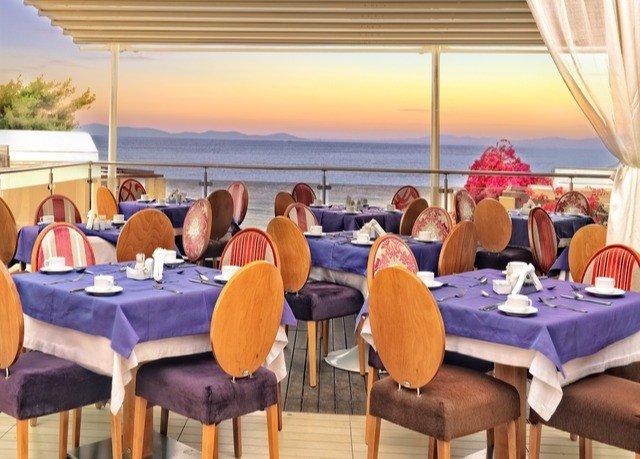 chair water restaurant Resort function hall set