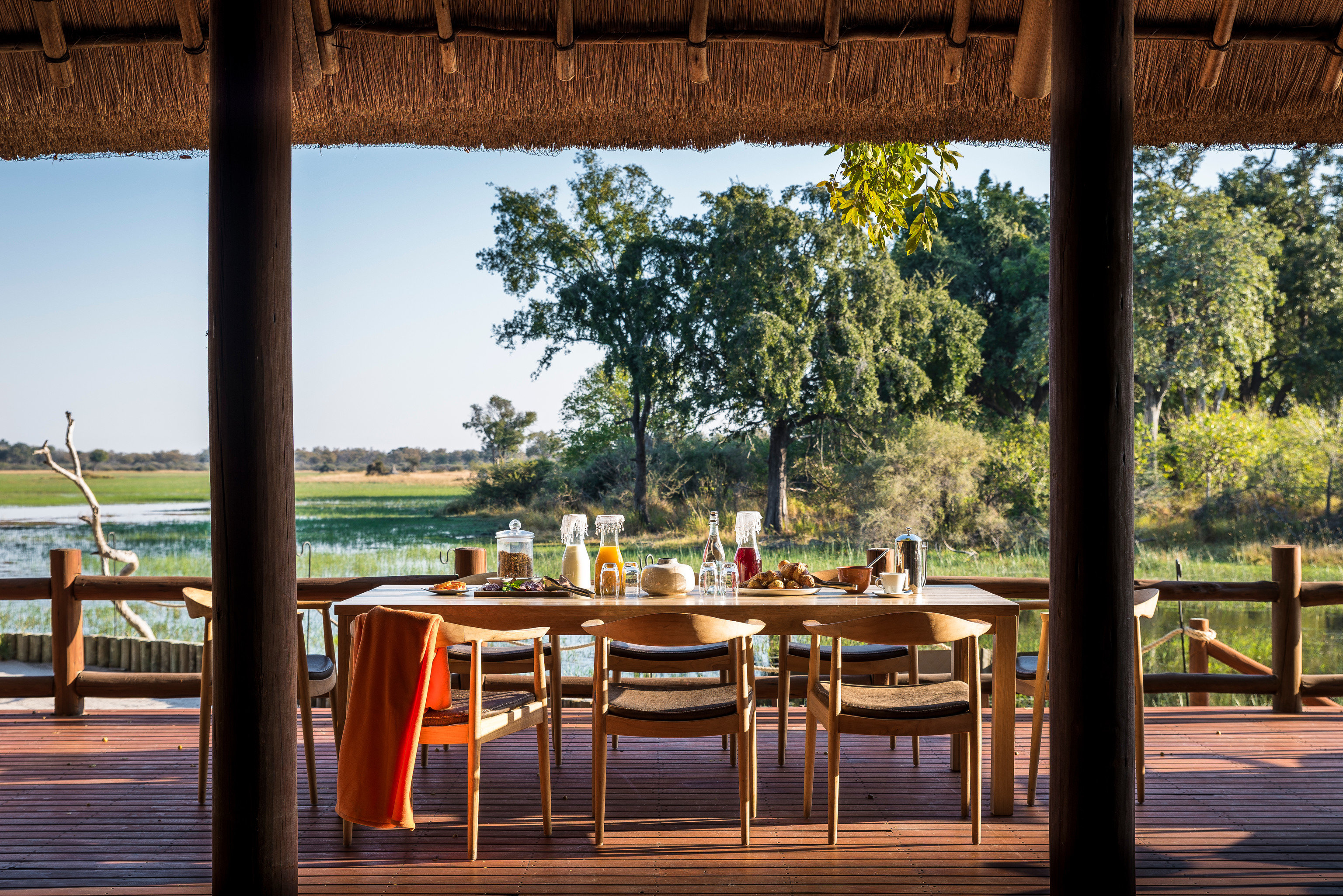 tree chair leisure Resort restaurant wooden home set