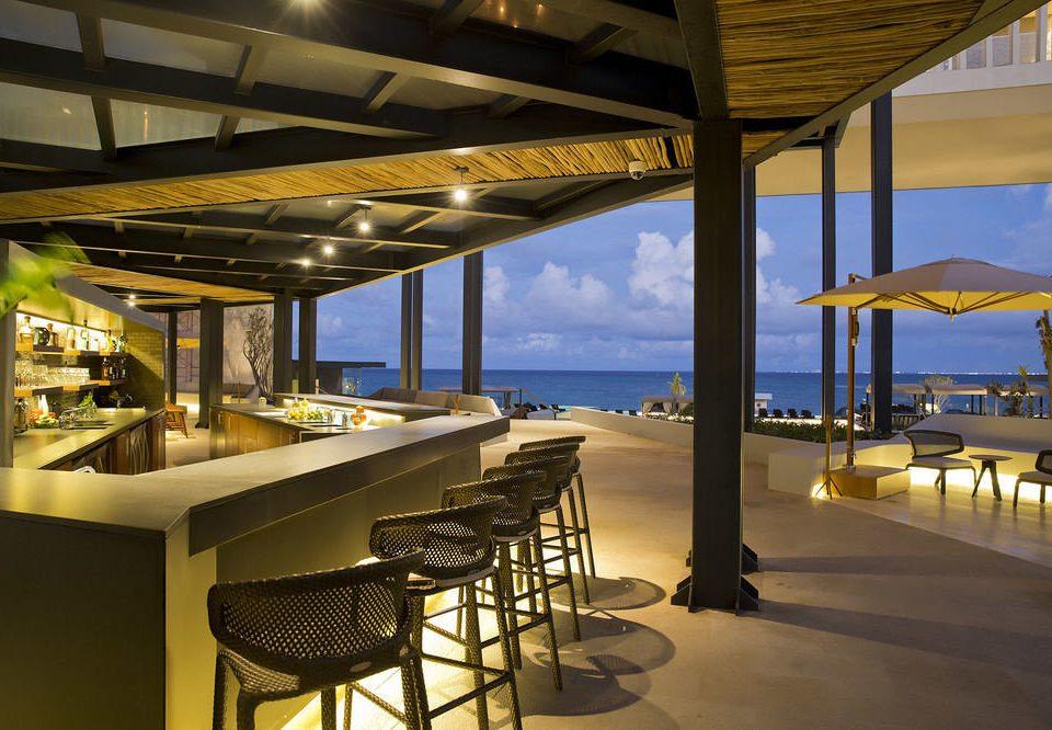 chair restaurant Resort lined