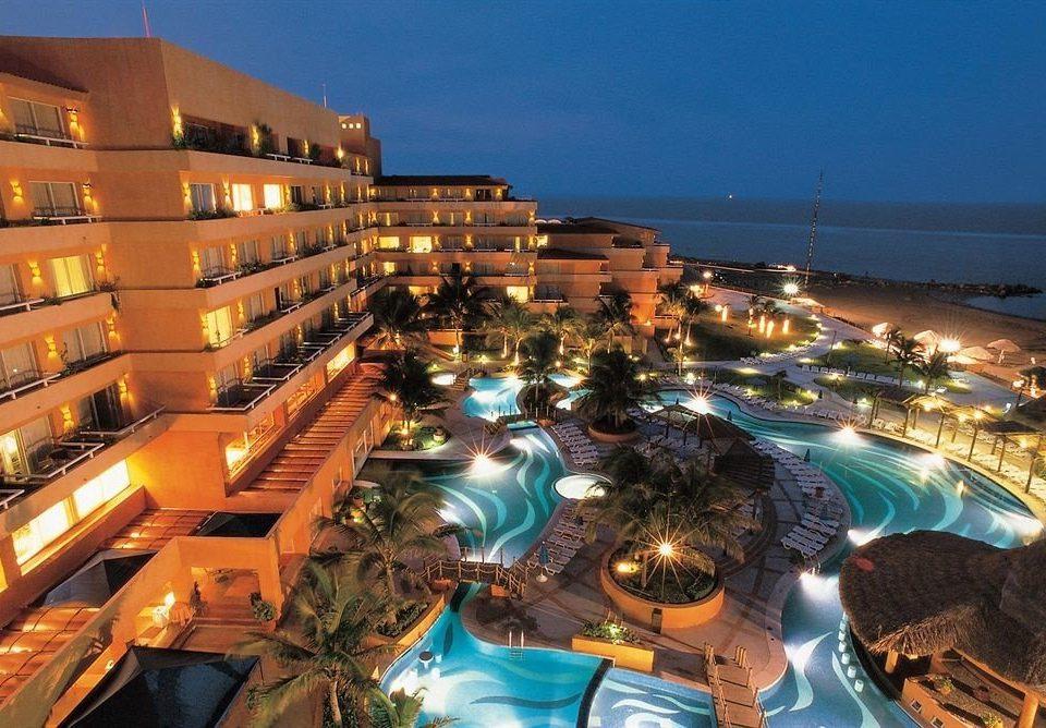 Resort cityscape
