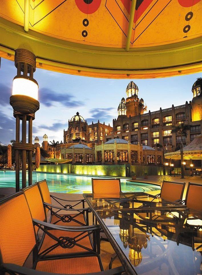 landmark evening Resort plaza cityscape palace travel