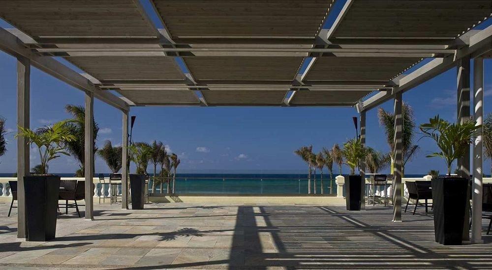 walkway Resort colonnade