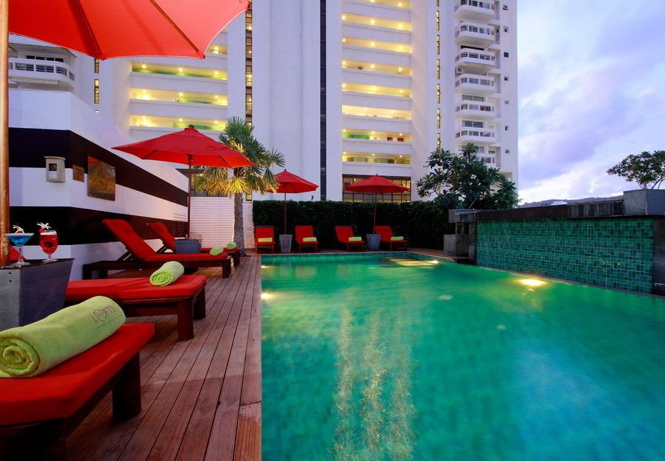 swimming pool leisure property condominium Resort colorful colored