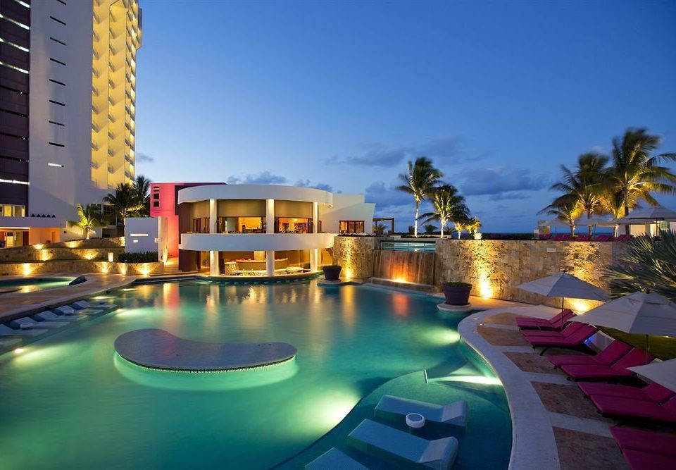 sky swimming pool condominium leisure property Resort marina colorful