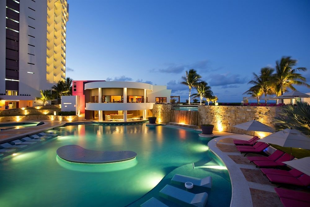 sky swimming pool condominium leisure property Resort marina colorful