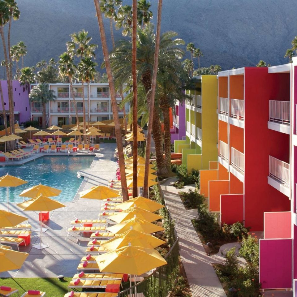 tree leisure Resort colorful condominium