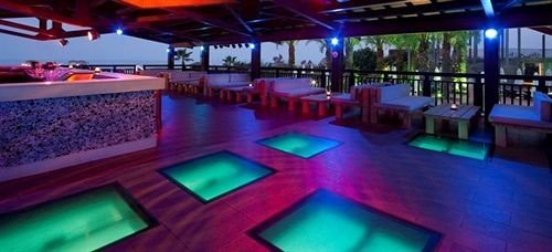 swimming pool leisure nightclub Resort disco function hall colorful