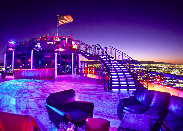 sky night Resort restaurant nightclub colorful