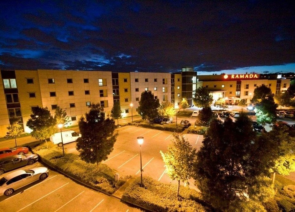 property night plaza light Resort evening condominium convention center
