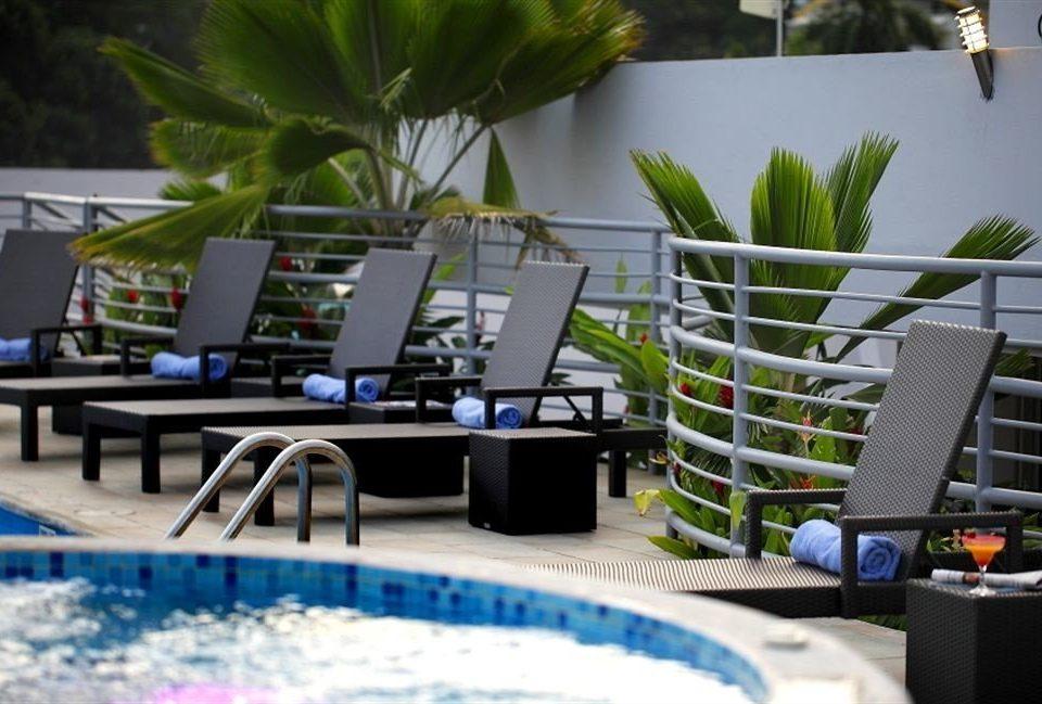 leisure condominium swimming pool Resort dining table