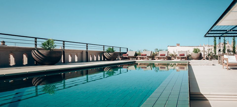 sky water swimming pool leisure property Resort reflecting pool condominium dock marina