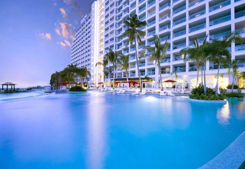 water swimming pool leisure condominium marina Resort reflecting pool dock plaza