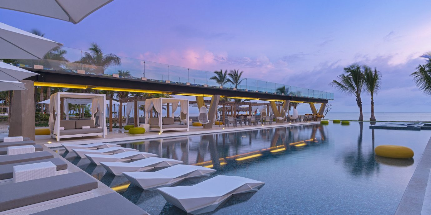 sky swimming pool marina Resort dock condominium