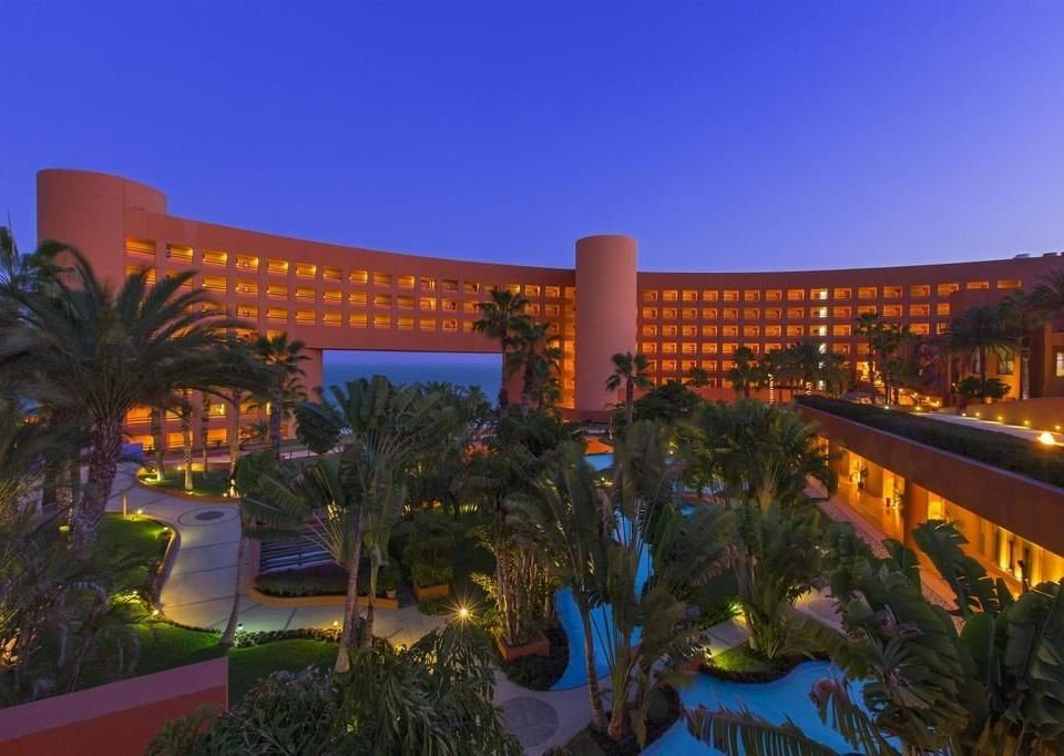 sky tree Resort property plaza evening condominium