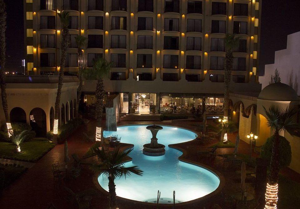 light night swimming pool lighting Resort condominium