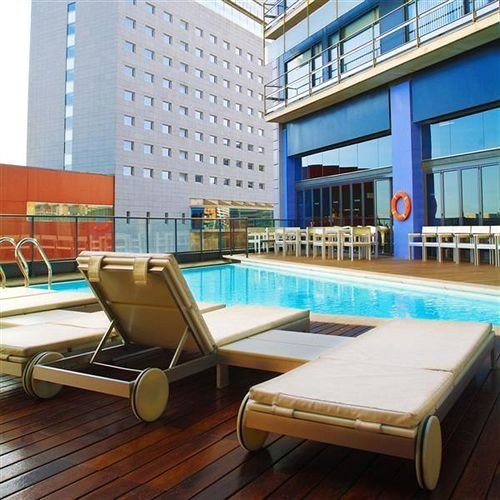 property condominium swimming pool wooden plaza Resort
