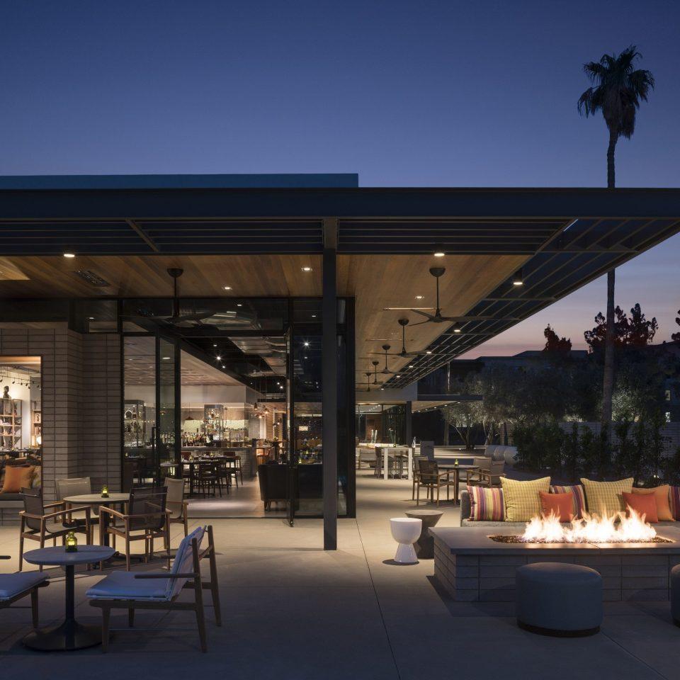 plaza lighting restaurant convention center Resort outdoor structure