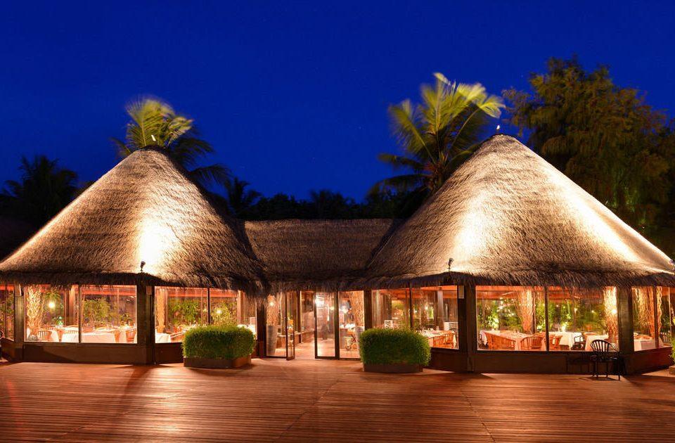 tree sky Resort hut cottage restaurant hacienda