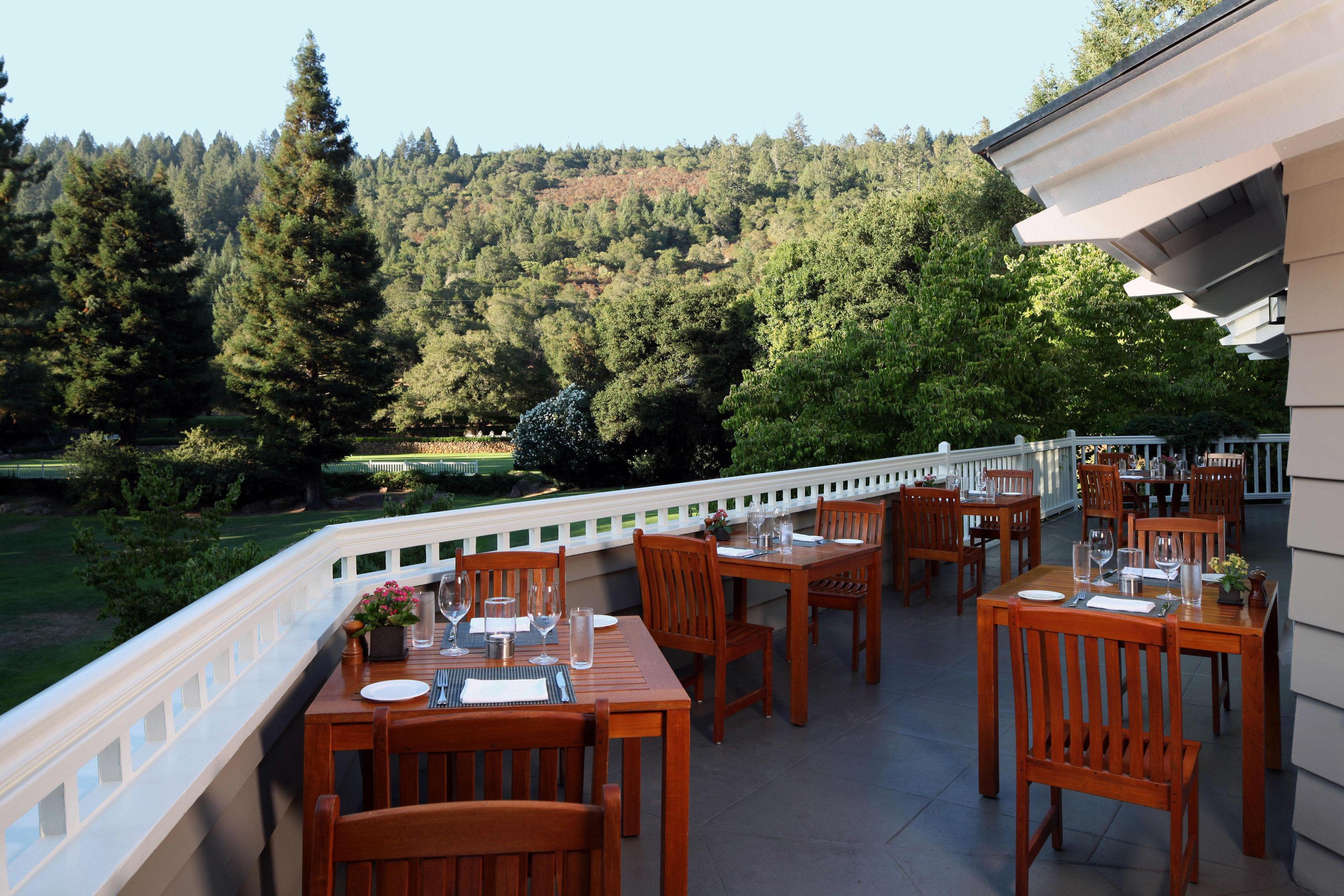 tree sky restaurant cottage Resort porch