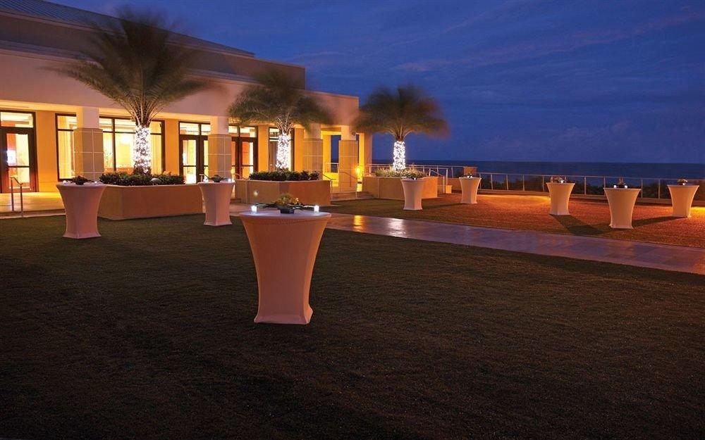 sky night evening Resort lit hacienda dark