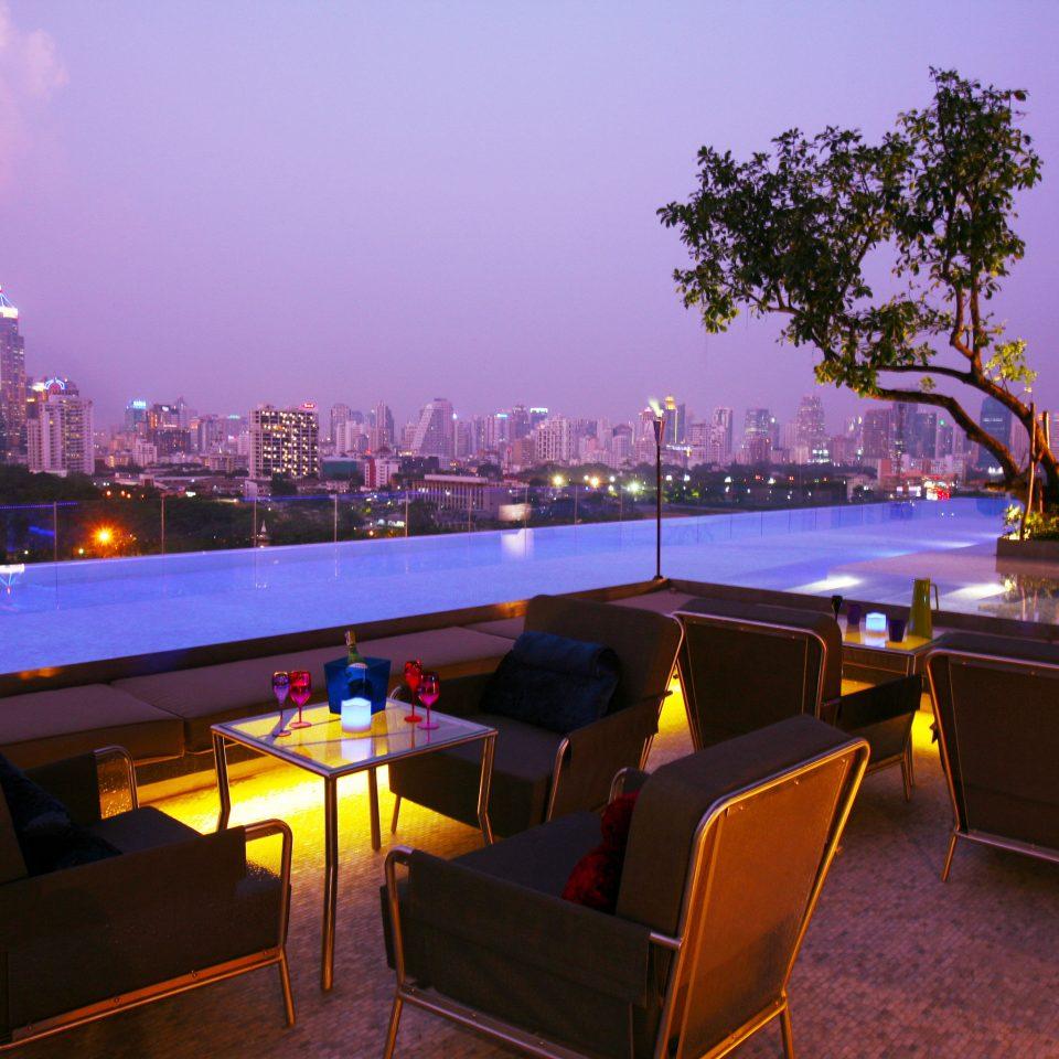 sky Resort evening dusk day