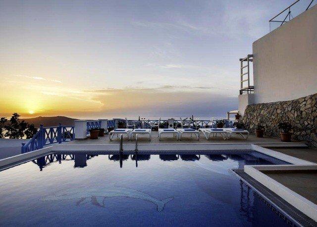 sky swimming pool marina dock Resort dusk